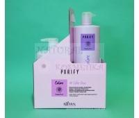 Шампунь и кондиционер для окрашенных волос / Kaaral Purify Colore / Италия / 1000 мл