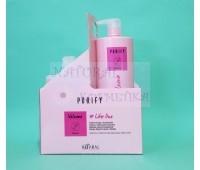 Шампунь и кондиционер для объема тонких волос / Kaaral Purify Volume / Италия / 1000 мл
