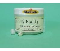 Маска-лифтинг для лица против морщин Кхади / Wrinkle Lift Face Mask / Khadi India / Индия / 50 г