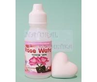Розовая вода, тоник для лица / Rose Water / 25 мл