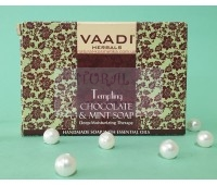 Мыло Шоколад и мята, Ваади / Vaadi Chocolate Soap / 75 г