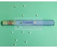 Угольные аромапалочки 7 Чакр /  7 Chakras incense sticks / 20 шт