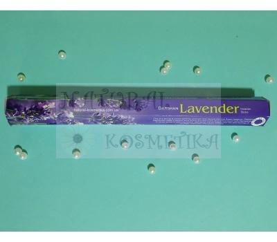 Угольные аромапалочки Лаванда / Lavender incense sticks / 20 шт