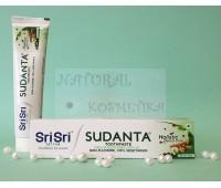 Зубная паста Суданта / Sudanta toothpaste, Sri Sri Ayurveda / 100 г