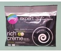 Крем-краска для волос, черный, 1.00 (black)  / - закрашивание седины 100 % / Expert, cream hair color / 20гр+20гр.